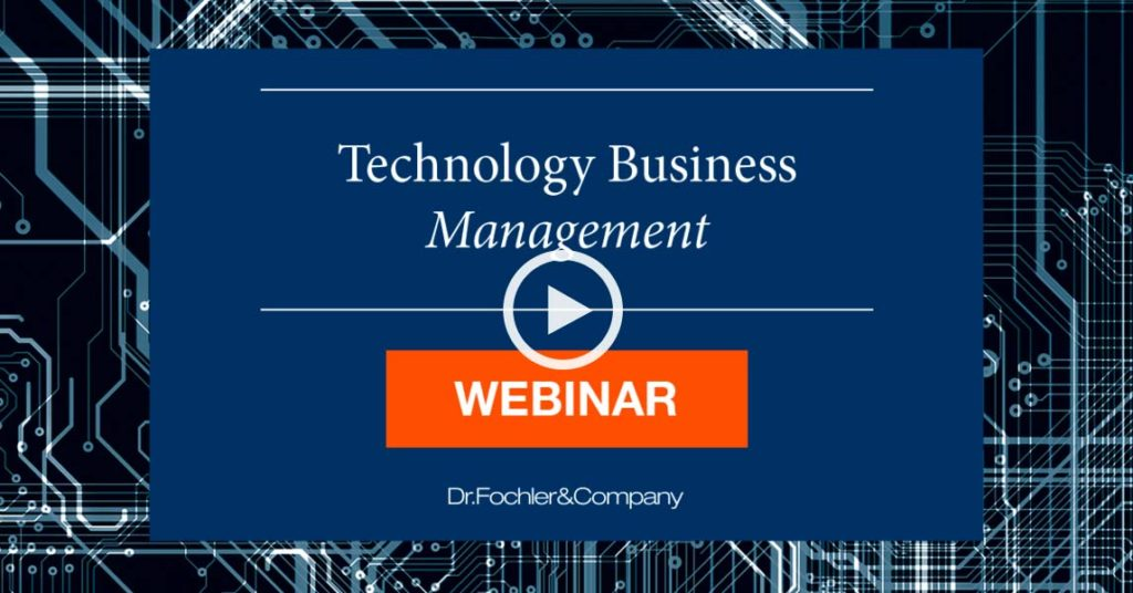 Technology Business Management - Webinar 2